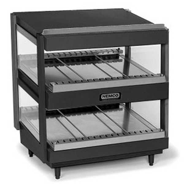 "Nemco SlantedDual Shelf24""Black, Model"