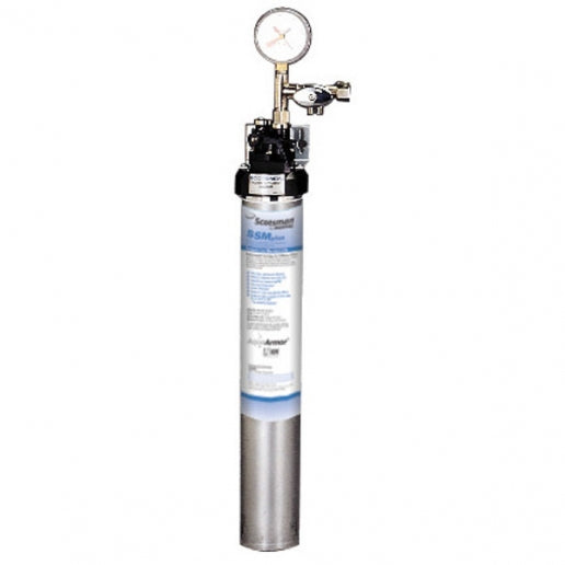 Scotsman SSM1-P SSM Plus Single Water Filtration System with AquaArmor - 0.5 Micron