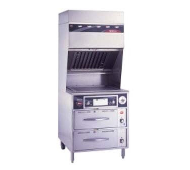 "Wells WVG-136RW - Ventless Griddle, electric, 22"" x 18"" grill area, thermostatic control"