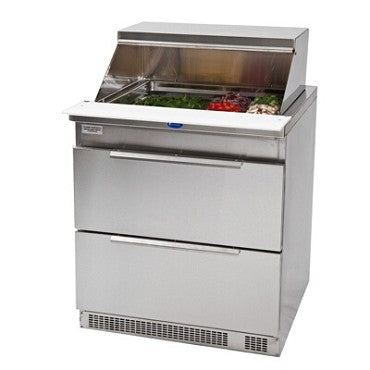 Randell 9412-32-290 - Refrigerated Counter/Salad Top, 1-Section, Stainless
