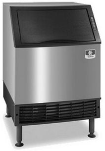 Manitowoc Ice Cuber with Bin (Undercounter) - 90lbs capacity - 135lbs per day - UDF0140A