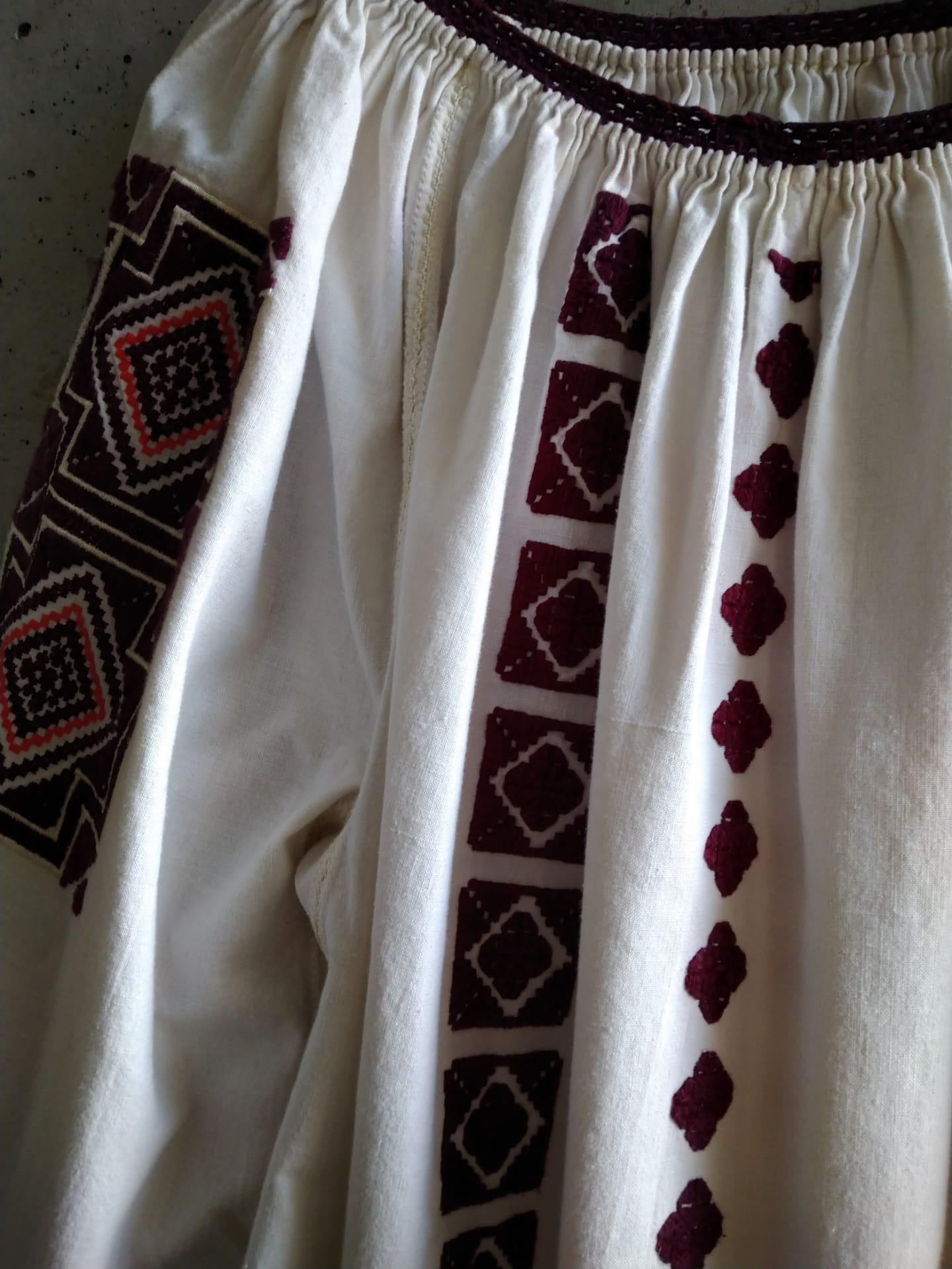 Old Romanian blouse