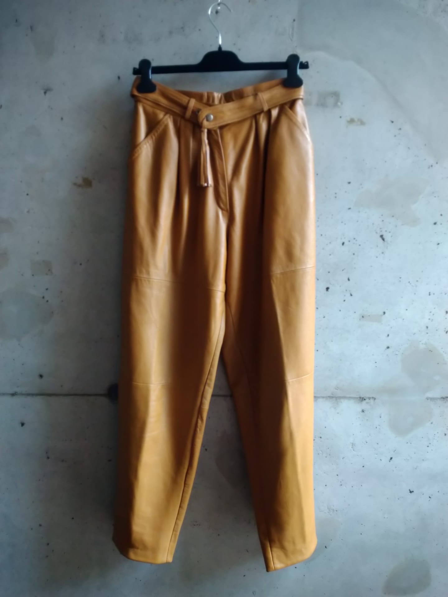 80es leather pants
