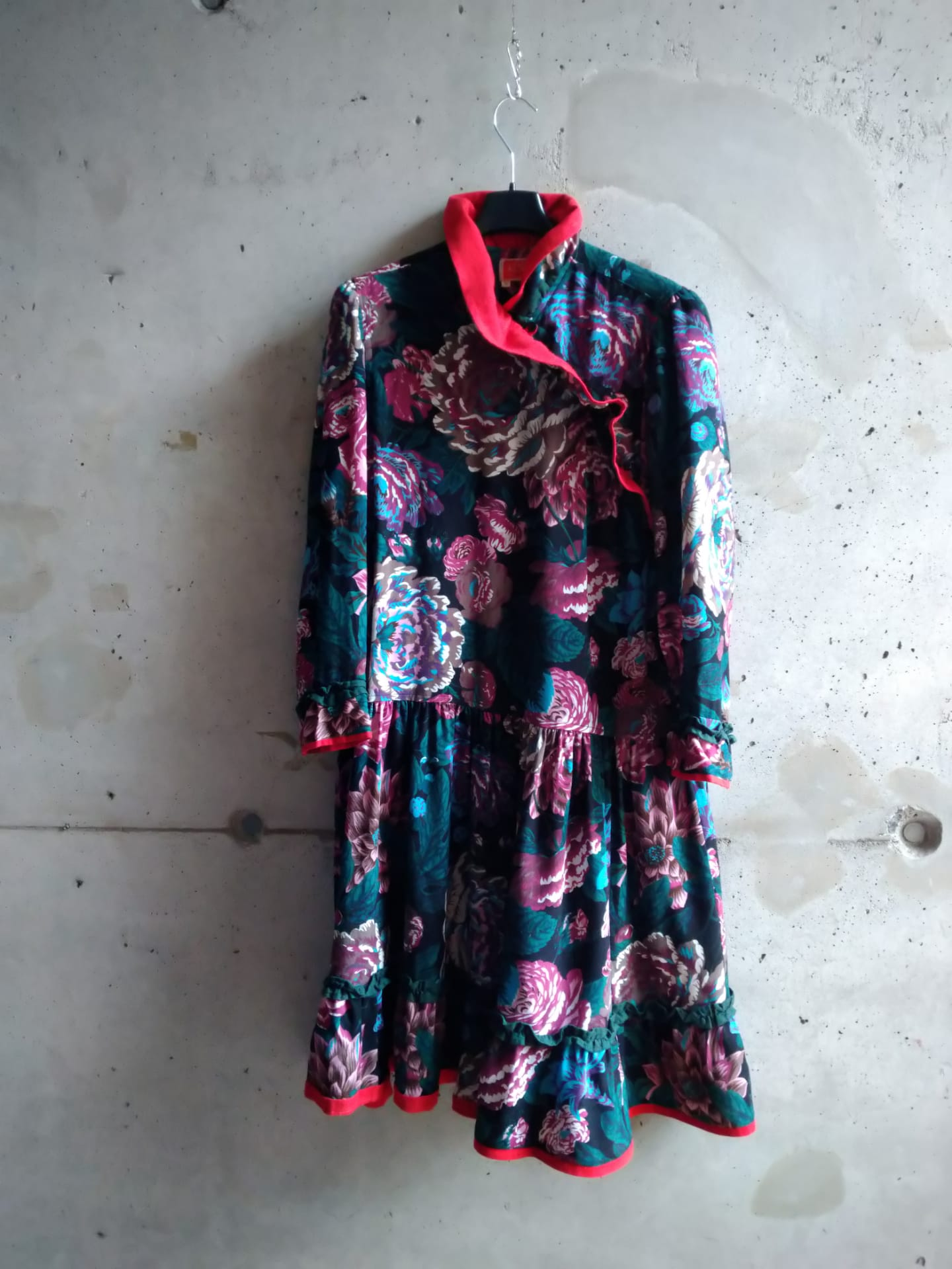 Printed wool Kenzo dress