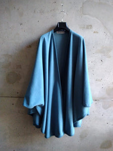 Francis Ferent blue cape