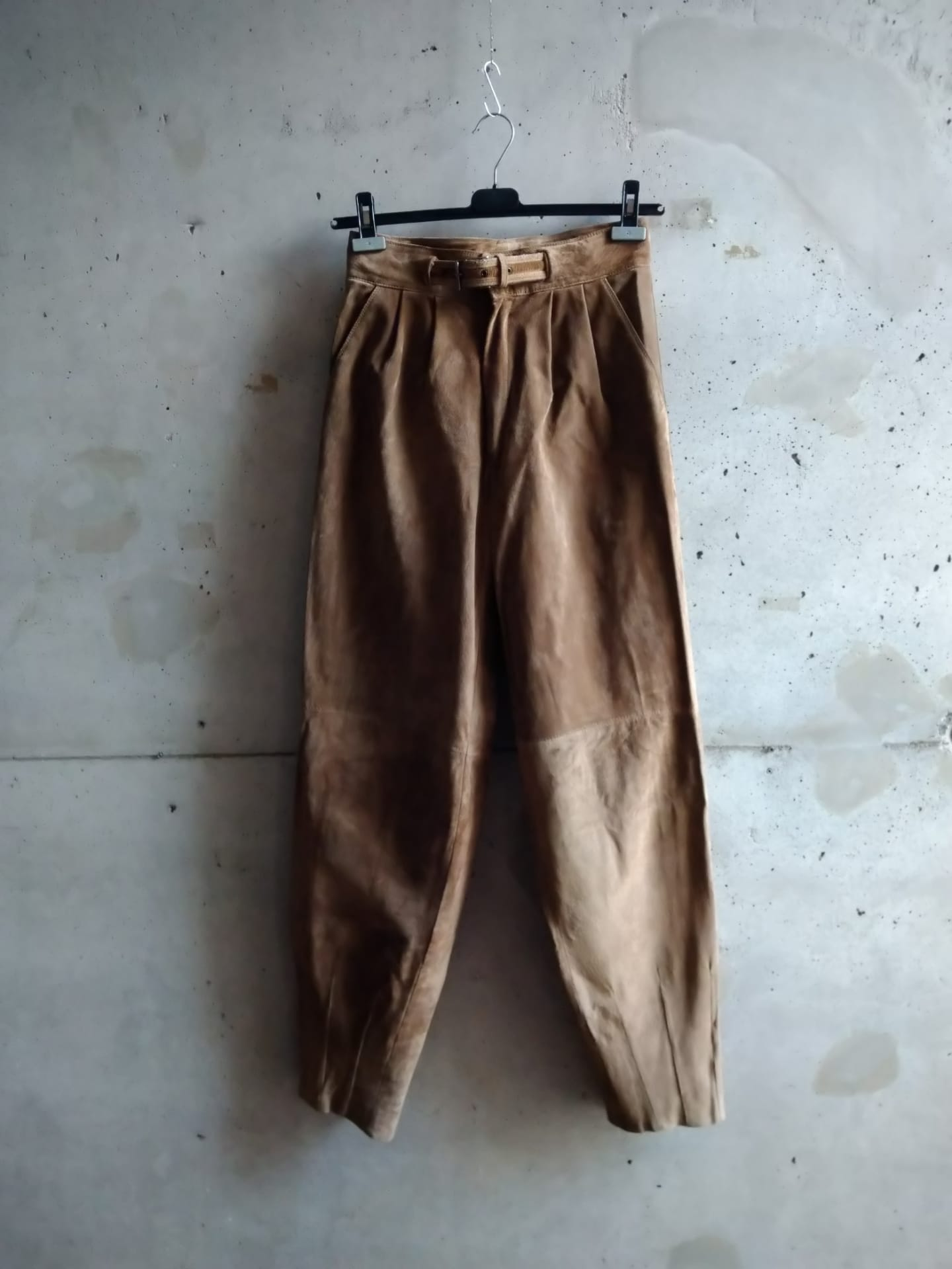 Gianni Versace suede pants