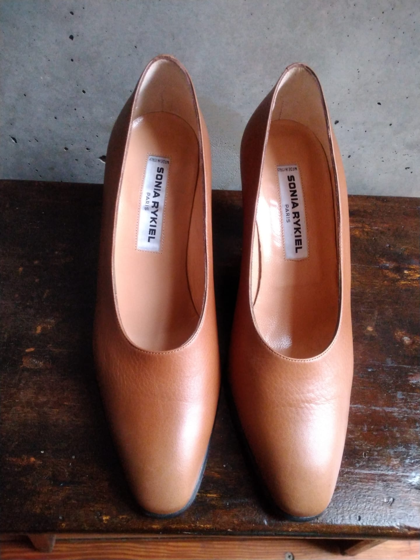 Sonia Rykiel brown pumps