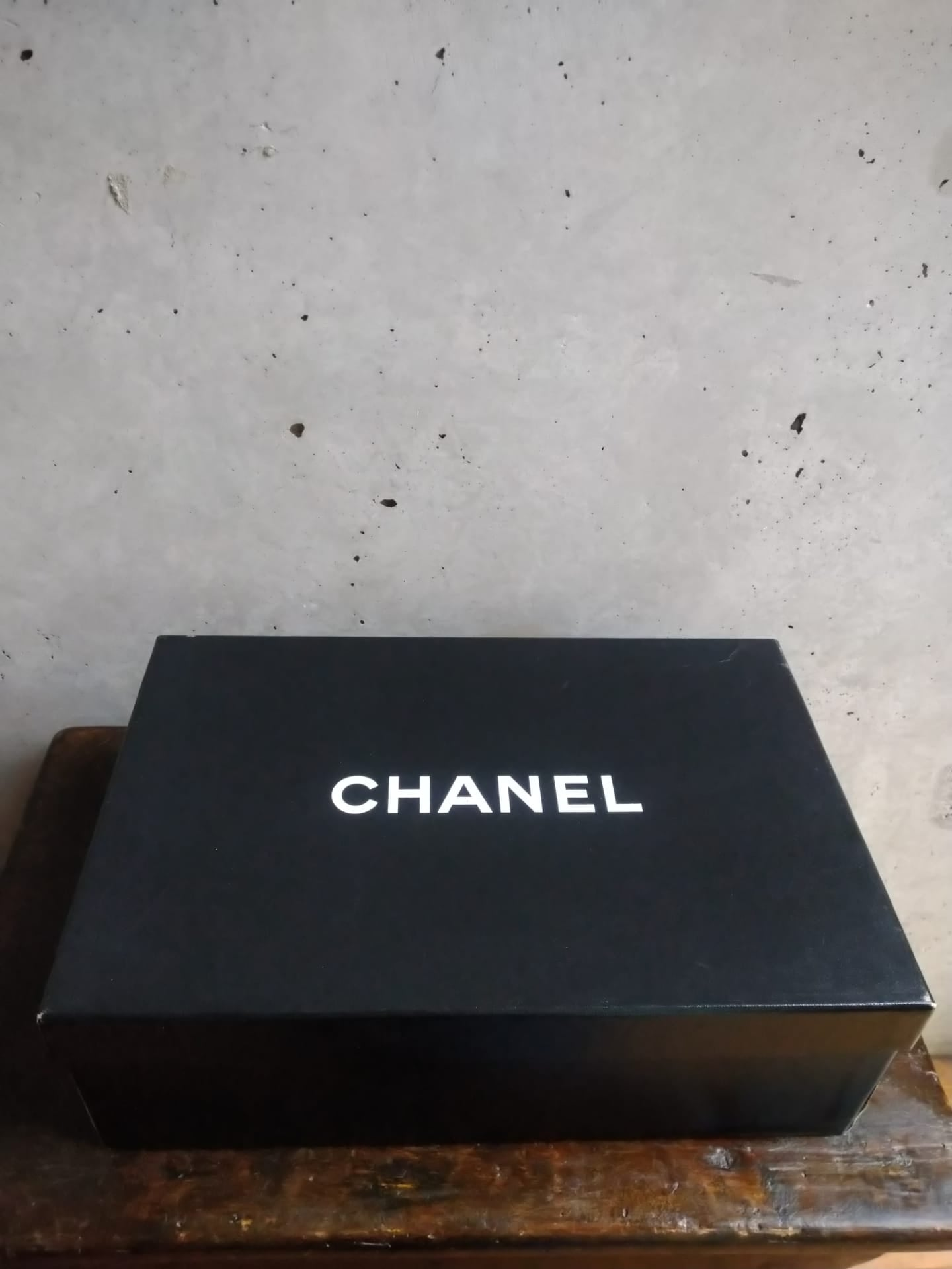 Chanel velvet and silk shoes