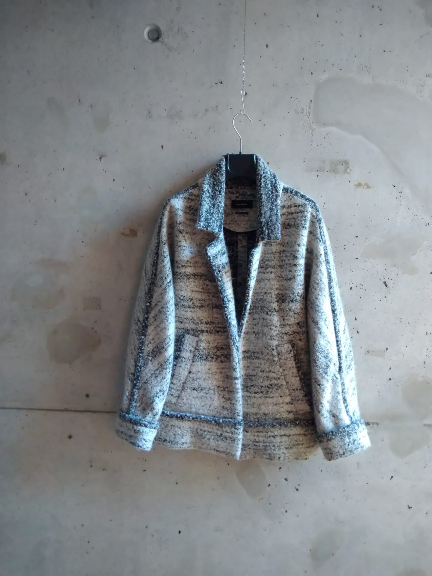Isabel Marant heather grey jacket