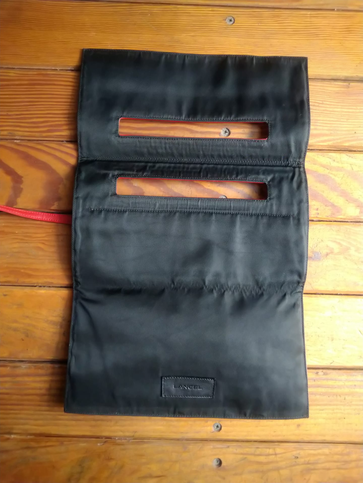 Lancel numbered pouch