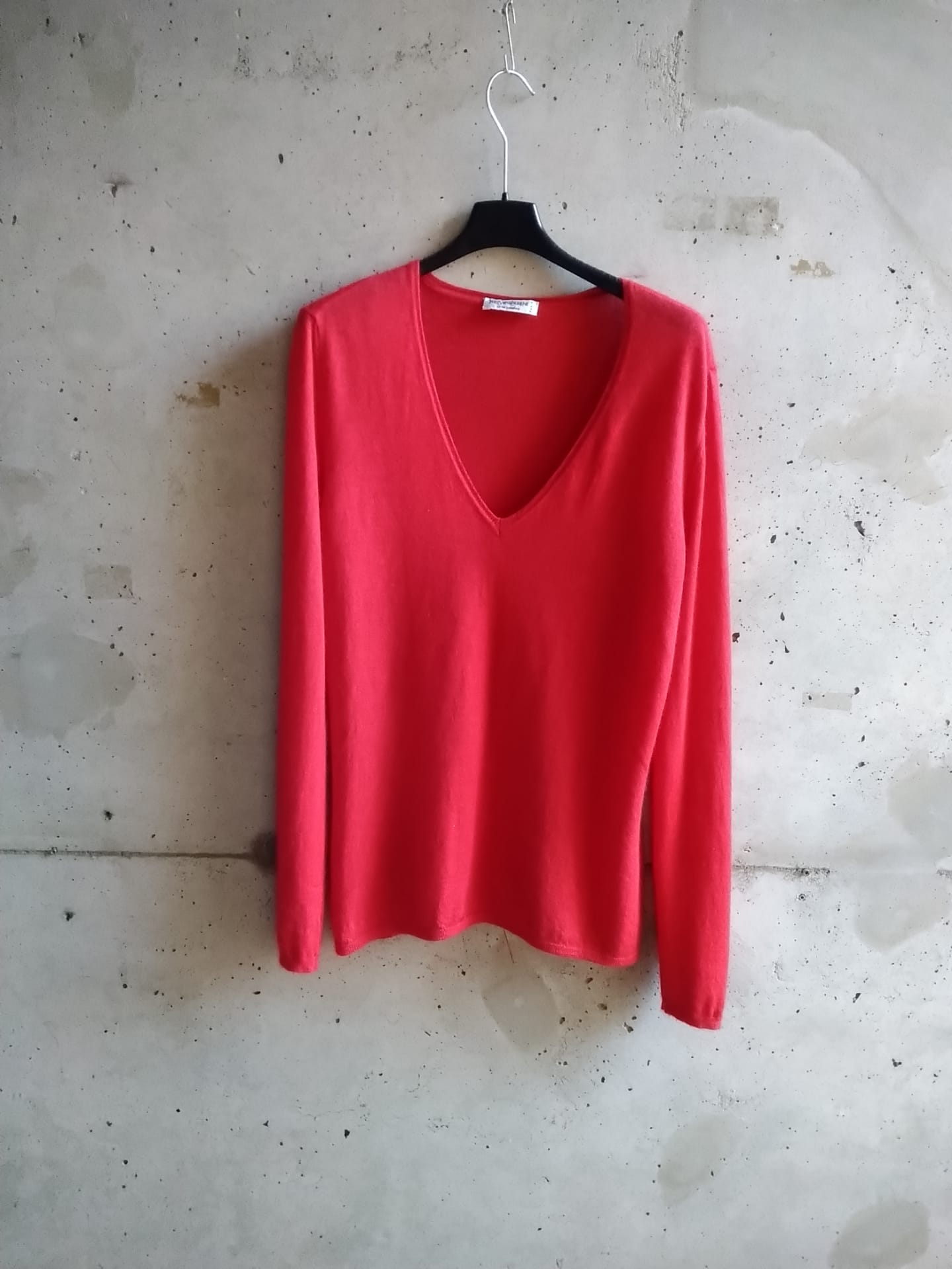 Yves Saint Laurent rasperry cashmere sweater