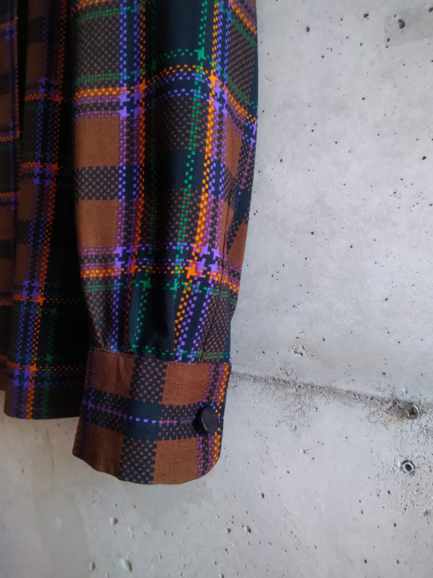 Yves Saint Laurent plaid shirt