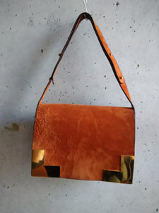 Delvaux orange bag