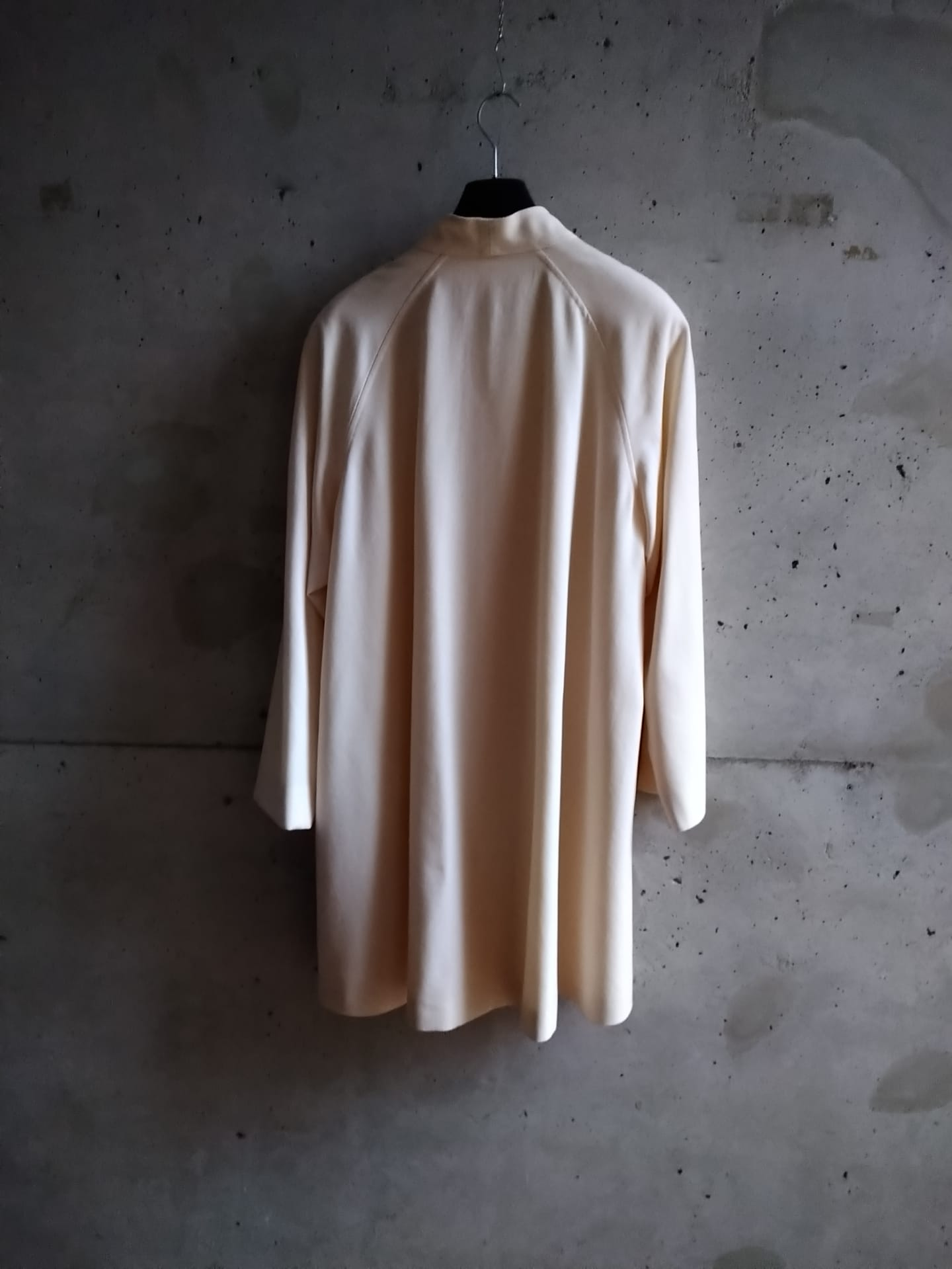 Ungaro cream wool shouldered coat