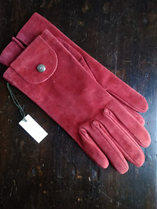 Longchamp suede gloves
