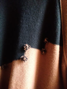 Sonia Rykiel brown and black sweater