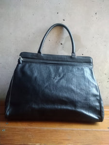 Il Bisonte black big handbag