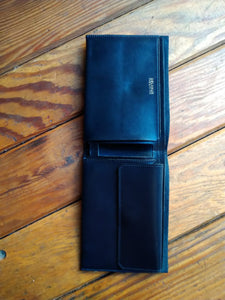Delvaux black wallet