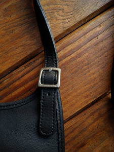 Coach black small crossbody bag
