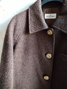 Valentino marron coat