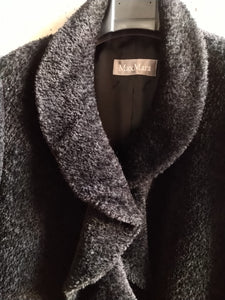 Max Mara black short coat