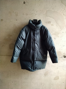 Moncler grey blue bomber jacket