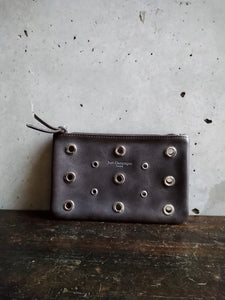 Just Campagne perforated grey purse