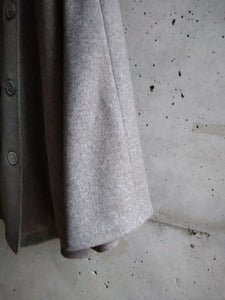 Fabiana Filippi taupe grey soft coat