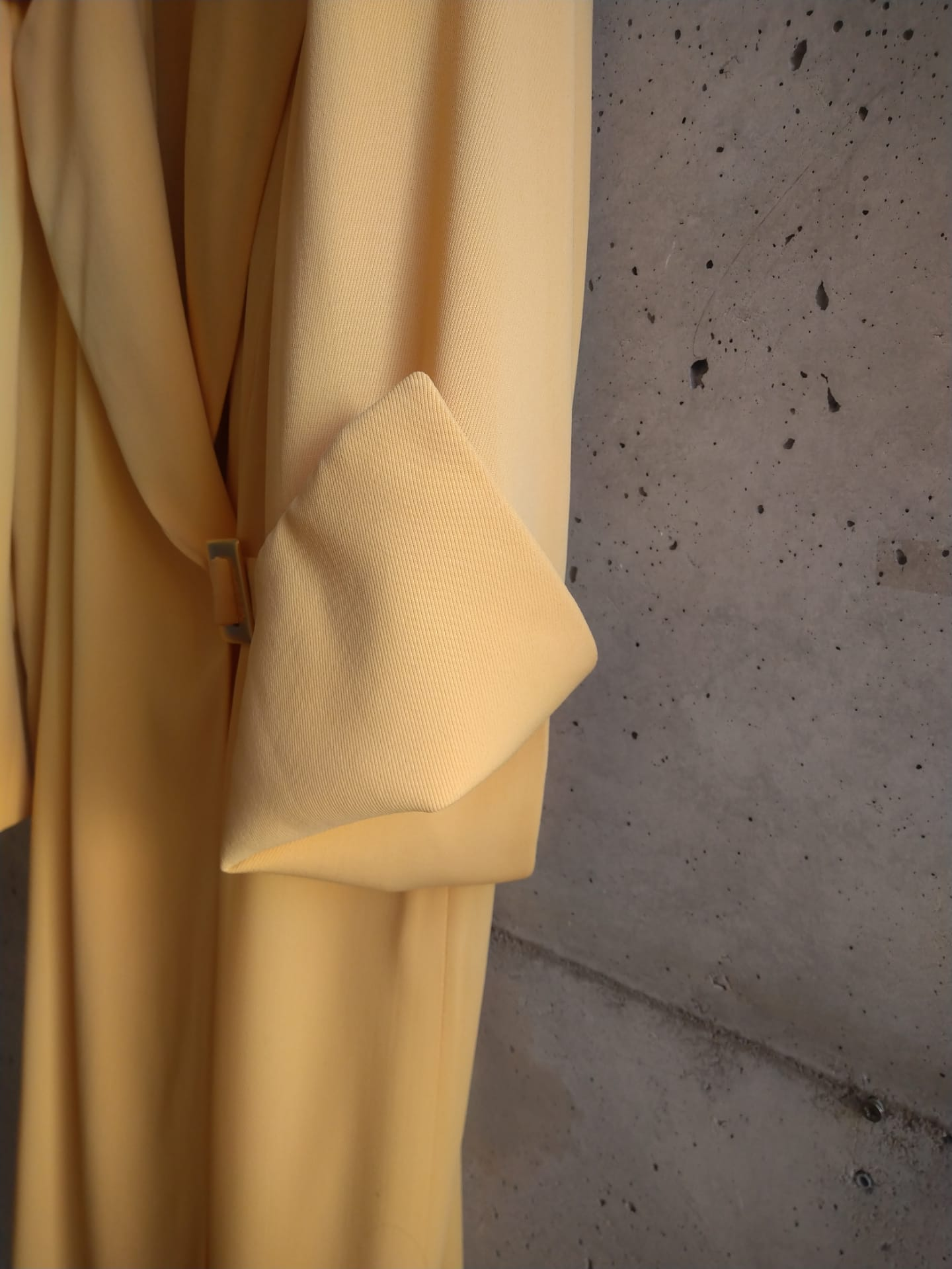 Celine yellow mid-season mantel