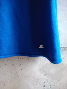 Courrèges blue tank top