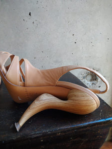 Casadei sandals with special wooden heels