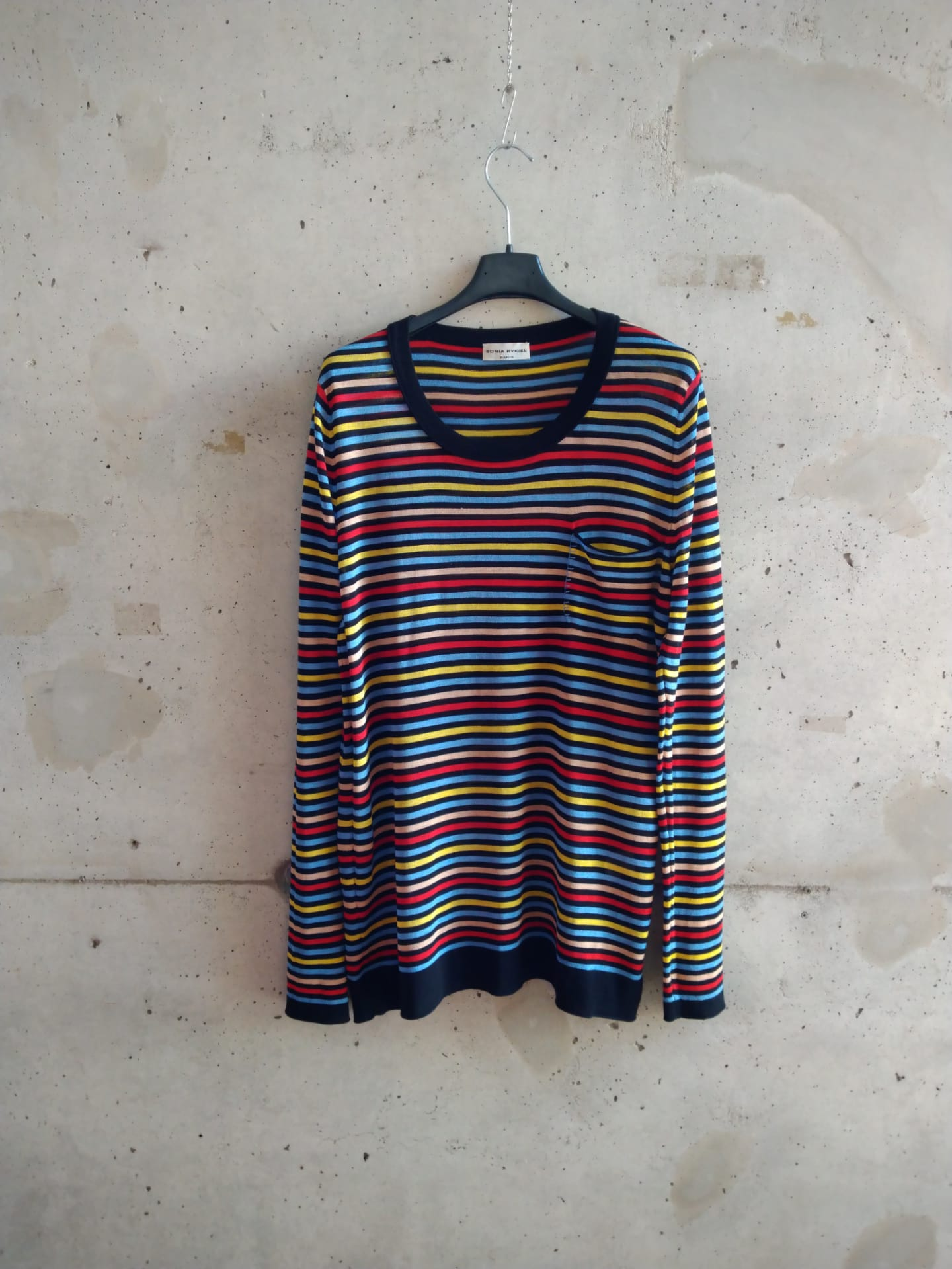 Sonia Rykiel striped thin sweater