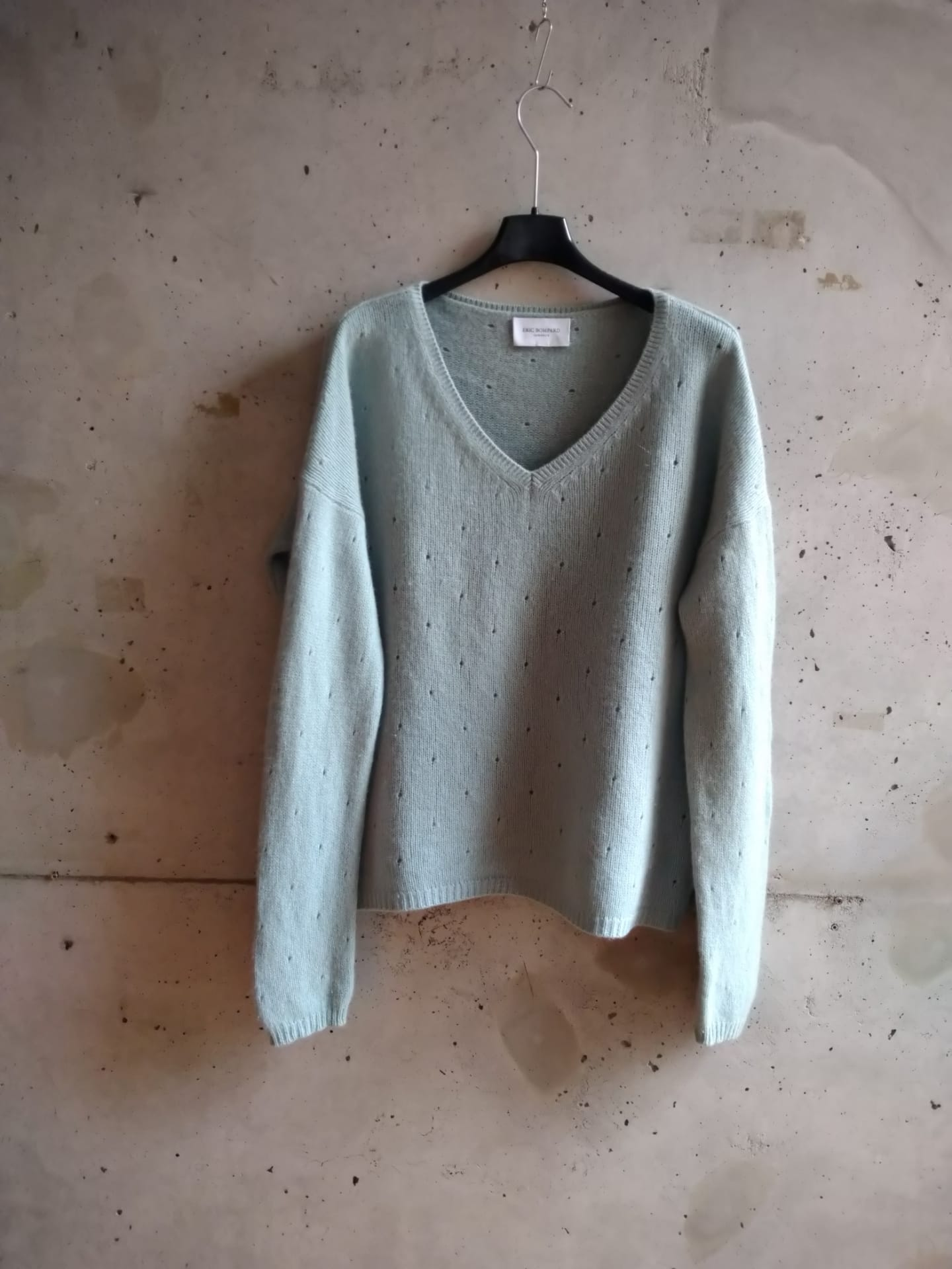 Eric Bompard light blue cashmere sweater