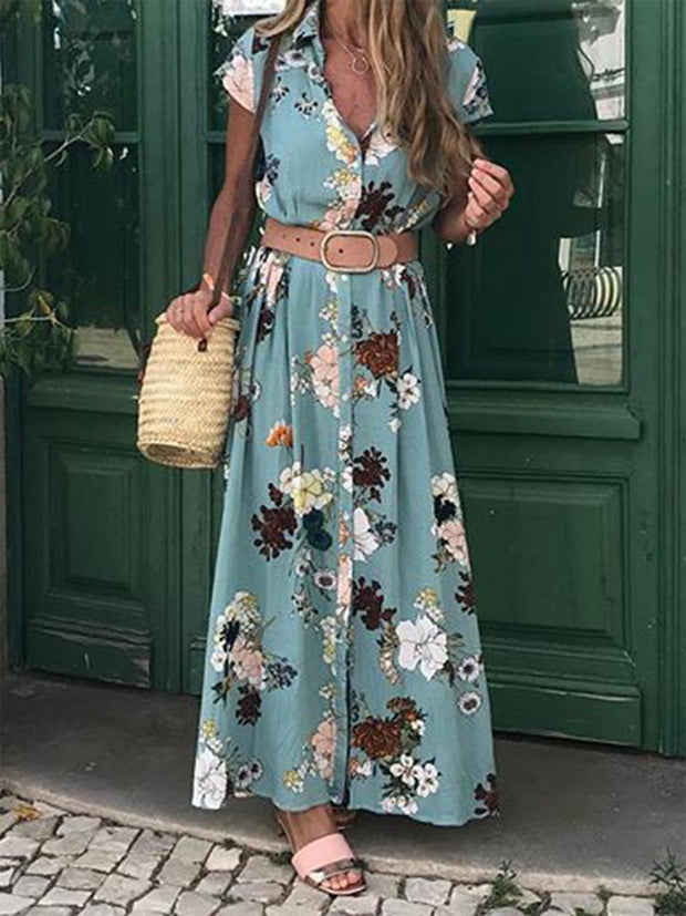 Women Dresses Shift Daily Blend Floral Dresses