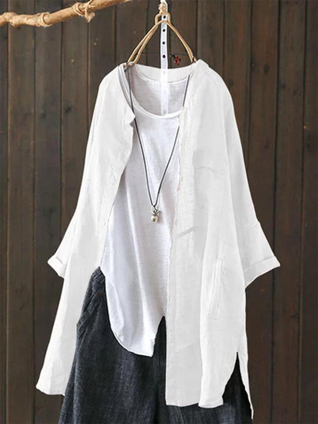 Casual Shirts Long Sleeve  Cardigans
