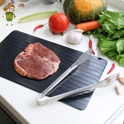 FASTDEFROSTING™ - QUICK DEFROSTING TRAY WITH CORNERS - Kitchen's Space