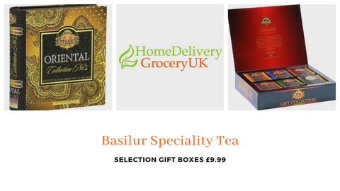 Basildur Selection Tea Selections ★ Christmas Treat Boxes ★ Buy Online UK