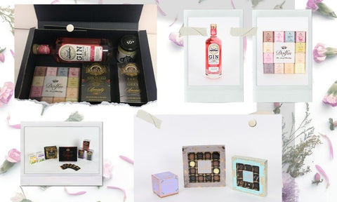 Create Your Own Tea Chocolate Alcohol Free Food Gift Hamper Build Bespoke UK Delivery