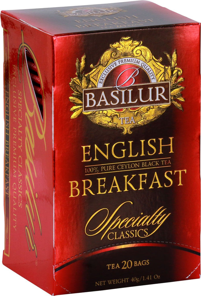 Basilur English Breakfast Tea Bags