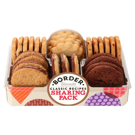 Border Biscuits Sharing Pack