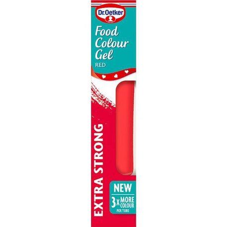 Dr. Oetker Food Colour Gel Red 15g