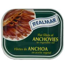 Realmar Anchovy Fillets in Oil 368g