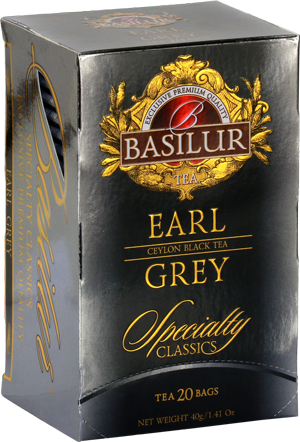 Basilur Earl Grey Tea Bags