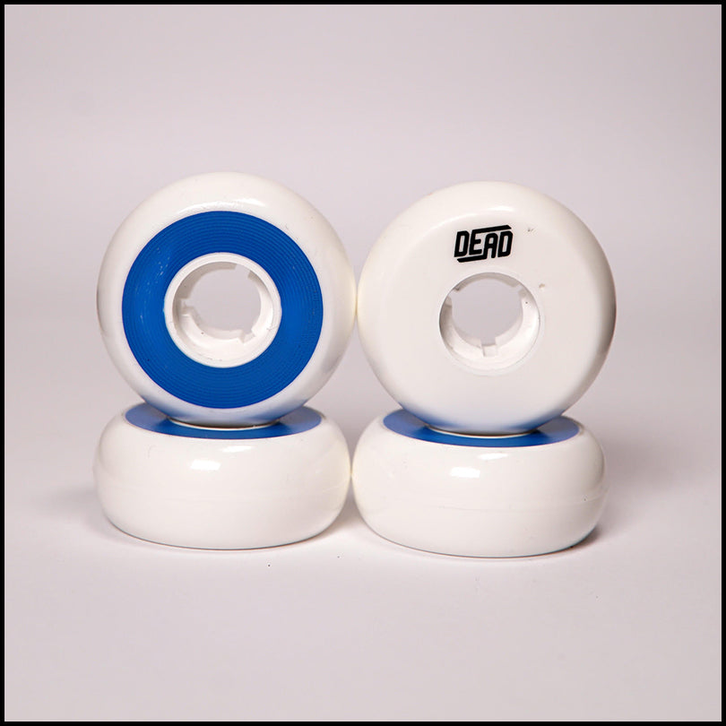 Dead Wheels White / Blue<br> 58mm / 88a (4)