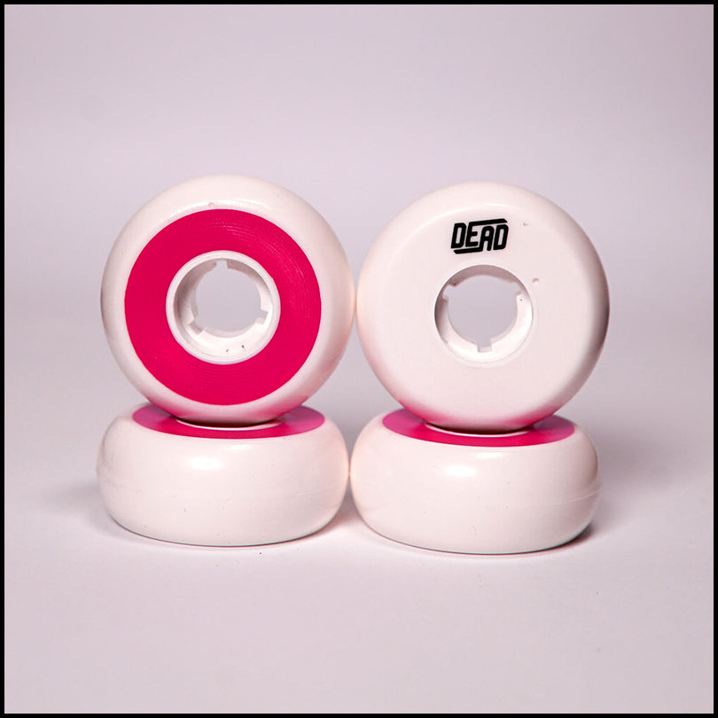 Dead Wheels White / Fuchsia<br> 58mm / 92a (4)