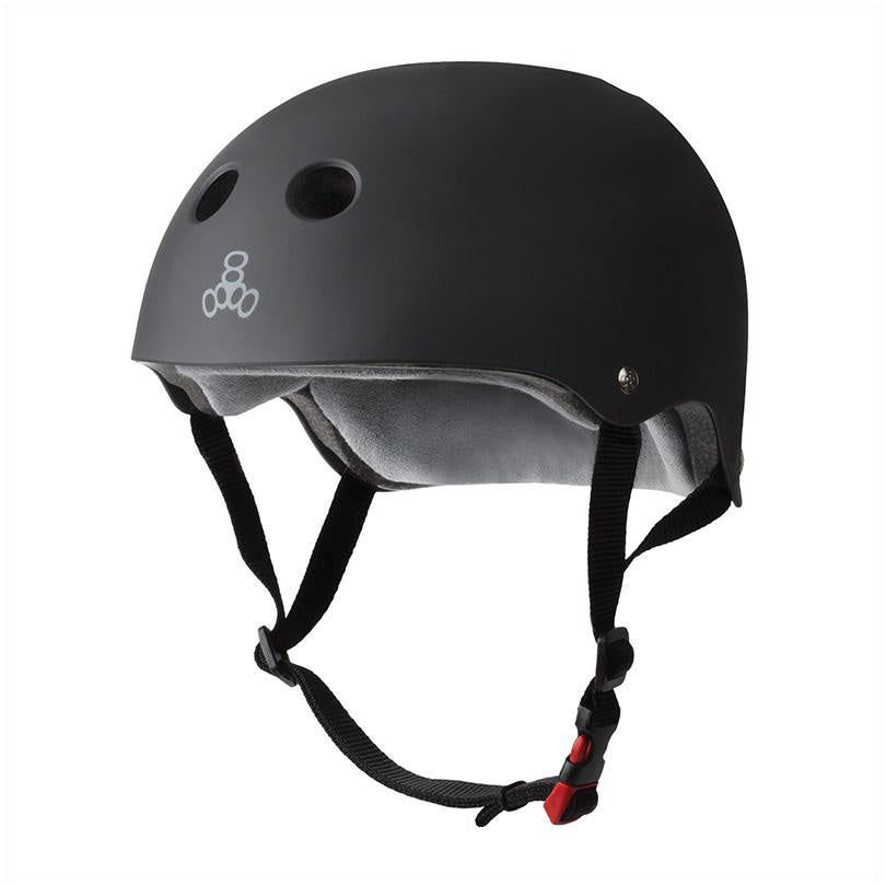 Triple 8 Certified Sweatsaver Helmet Black