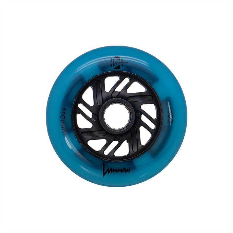 Luminous LED Wheels Blue Glow<br>110mm / 85a (1)