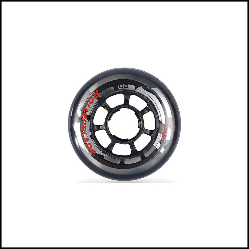 Rollerblade 76mm / 80a Wheels (8)