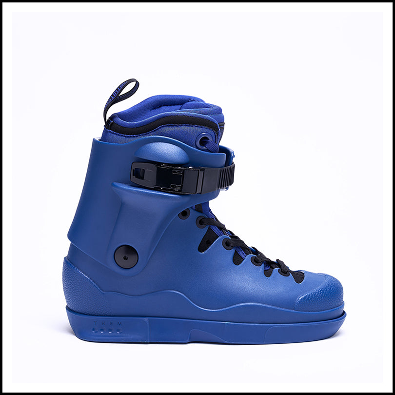 Them Skates 908 Blue Boot With Intuition Liner