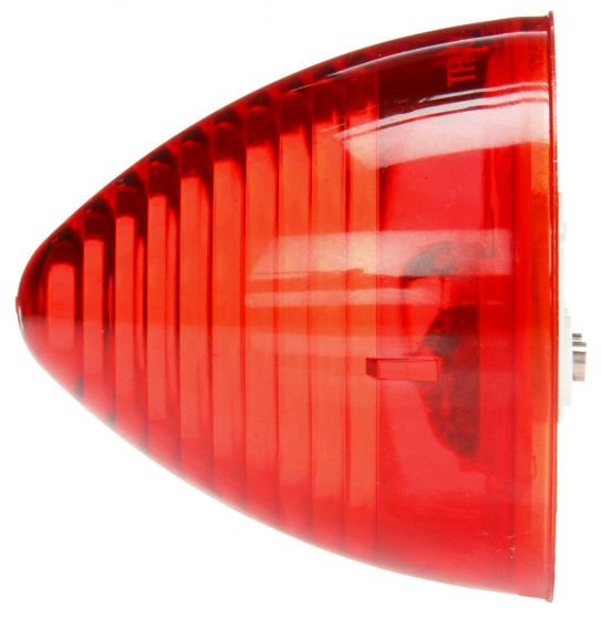 10 Series Red Incandescent Beehive Marker Clearance Light, PL-10 & Grommet Mount | Truck-Lite 10203R